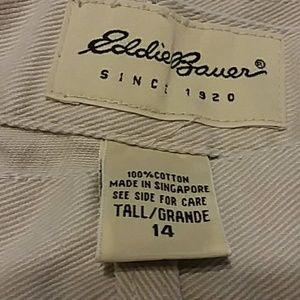 Eddie Bauer Pants - Eddie Bauer Capris Size 14 Tall